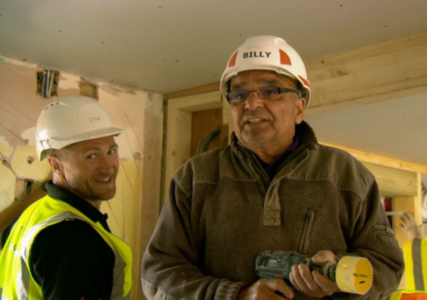 DIY SOS: Stuart and Billy