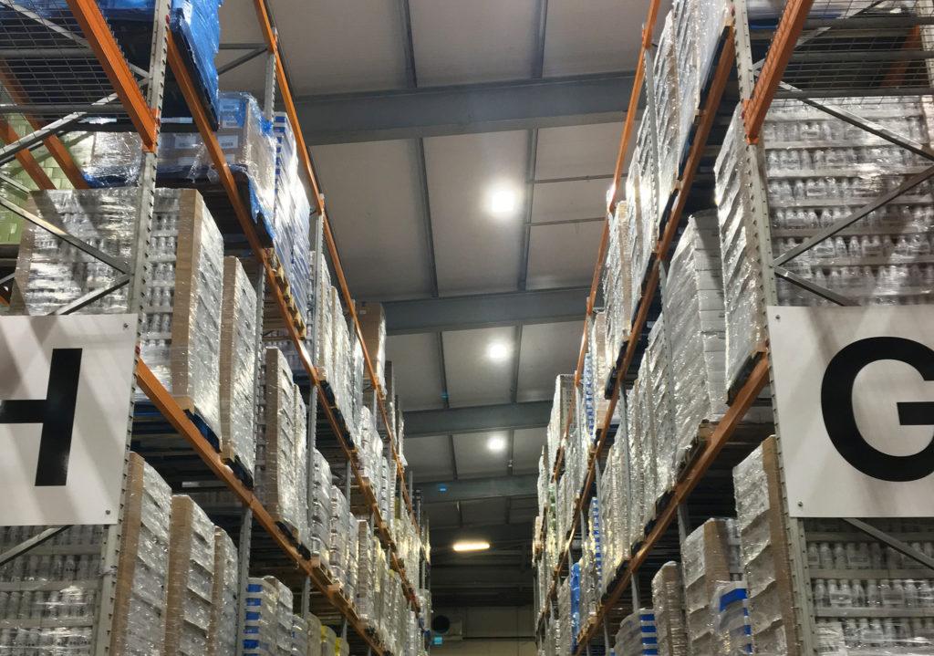 Energy Efficient Chiller warehouse reconfiguration