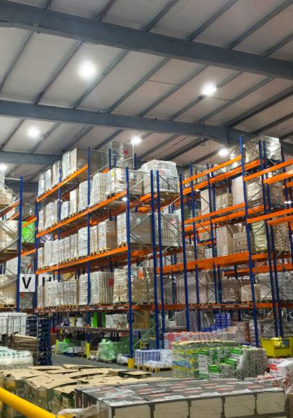 Oakland International : warehouse reconfiguration