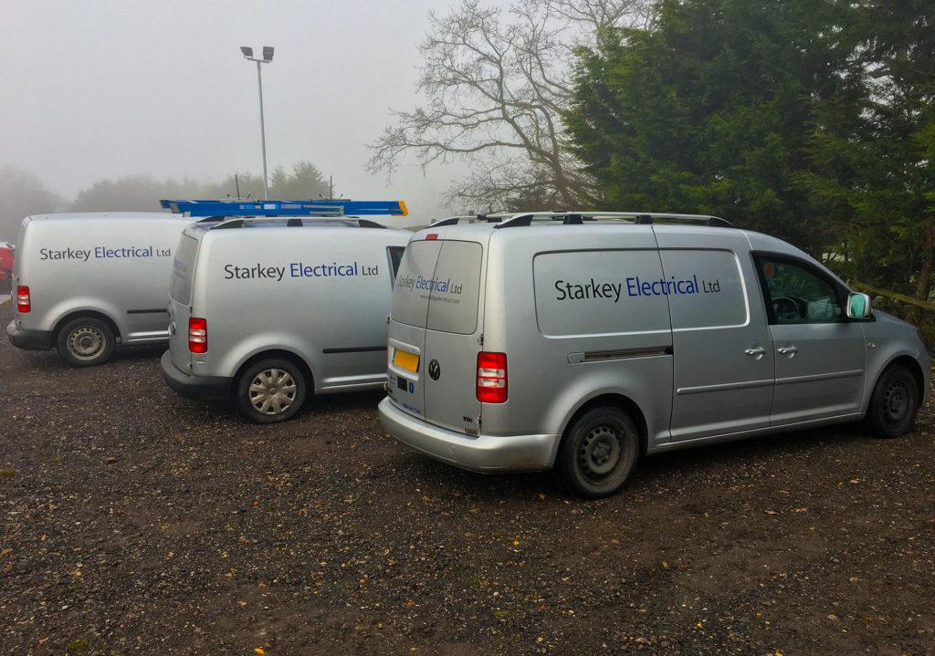 Starkey Electrical vans