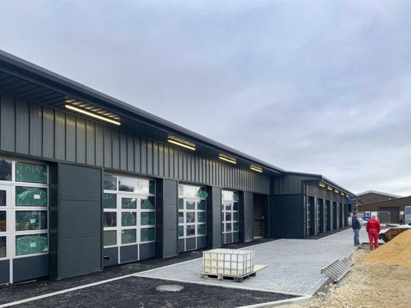 External Lighting Industrial Units