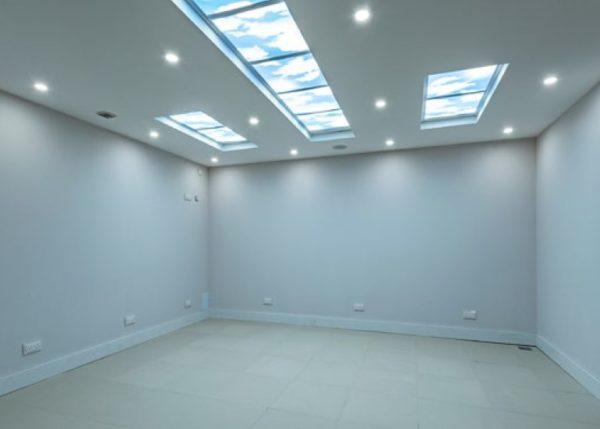 Sky Panels and LED Spotlights